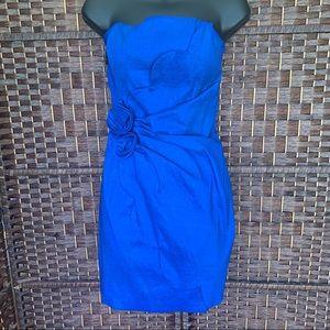 Cache Dresses - Cachè Blue Dress